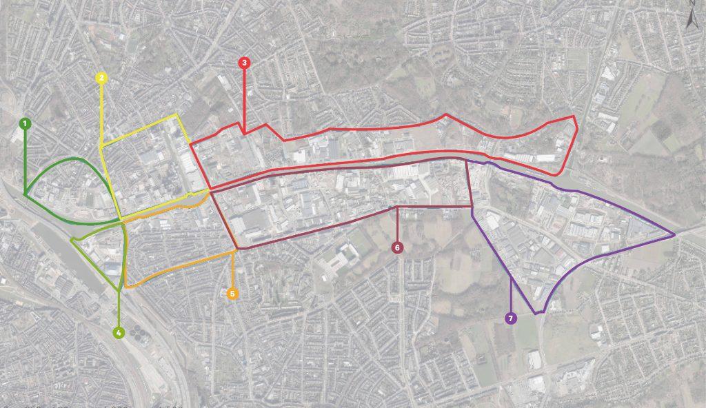 kanaalkant zones overview